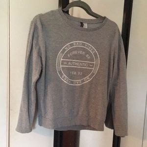 Gray long sleeve tee!